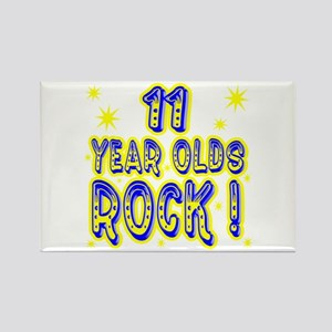 11 Year Olds Rock ! Rectangle Magnet