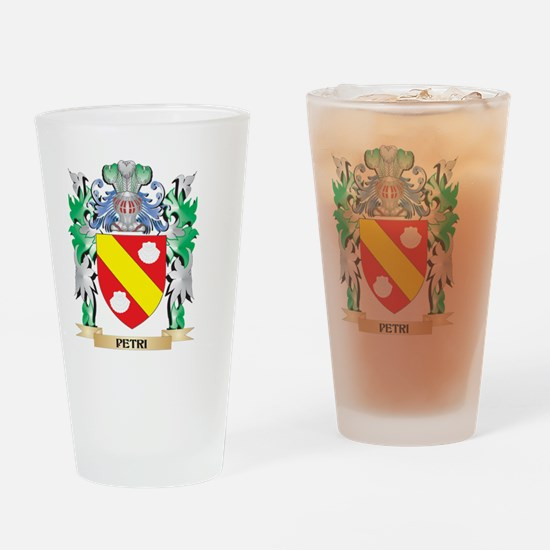 Petri Coat of Arms - Family Crest Drinking Glass
