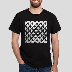 Black and White Pattern T-Shirt