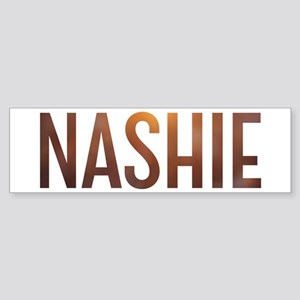 Nashie Nashville Fan Bumper Sticker