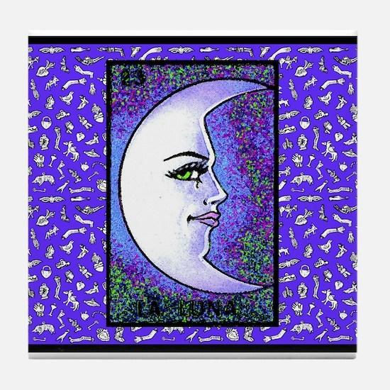 La Luna & Milagros Tile Coaster