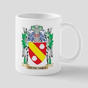Petrushka Coat of Arms - Family Crest Mugs
