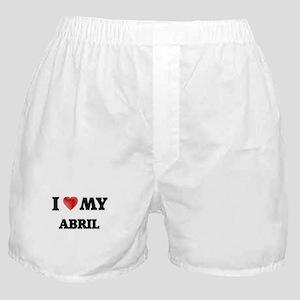 I love my Abril Boxer Shorts