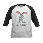 Got Rabbit? Kids Baseball Jersey