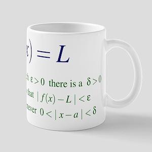 Definition of the Limit Mug