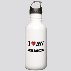 I love my Alessandra Stainless Water Bottle 1.0L