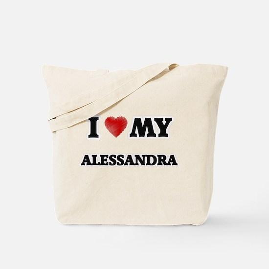 I love my Alessandra Tote Bag