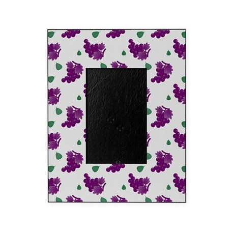 Purple Grapes Picture Frame