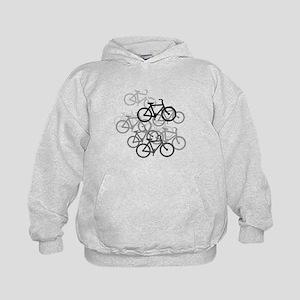 Bicycles Kids Hoodie