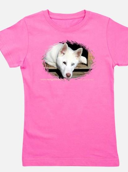 Funny Husky dog Girl's Tee