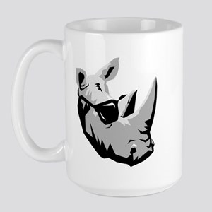 Cool Rhinoceros Large Mug