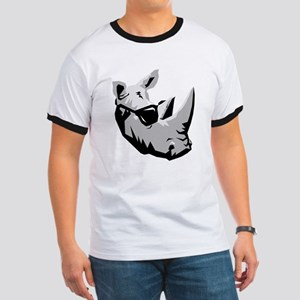 Cool Rhinoceros Ringer T