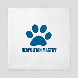 Neapolitan Mastiff Dog Designs Queen Duvet