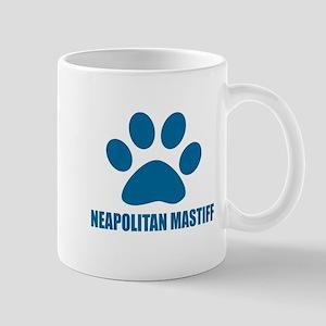 Neapolitan Mastiff Dog Designs 11 oz Ceramic Mug