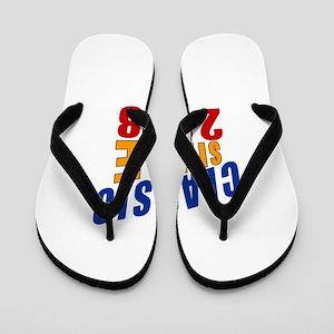 Classic Since 2008 Flip Flops