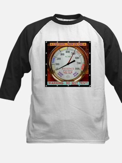 Personal Patience Meter Baseball Jersey