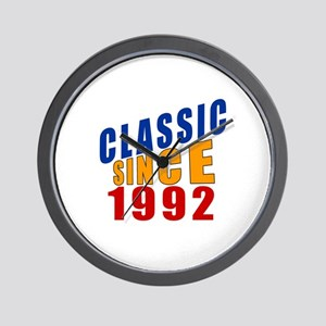 Classic Since 1992 Wall Clock