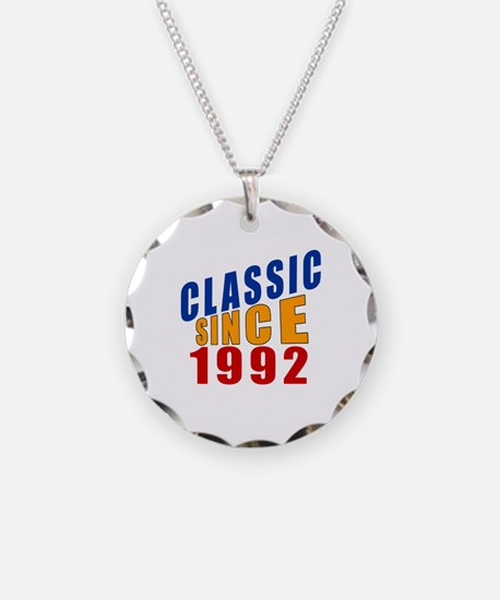 Classic Since 1992 Necklace