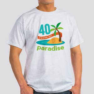 40th Anniversary (Tropical) T-Shirt
