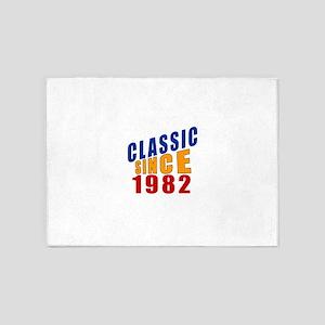 Classic Since 1982 5'x7'Area Rug