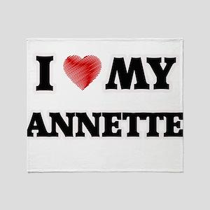 I love my Annette Throw Blanket