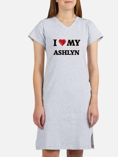 I love my Ashlyn Women's Nightshirt