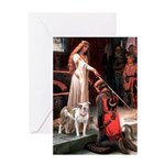 The Accolade / Pitbull Greeting Card