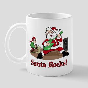 Santa Rocks Mug