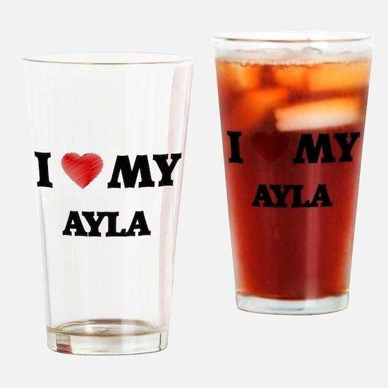 I love my Ayla Drinking Glass