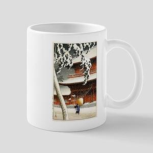 JAPANESE SNOW_VINTAGE SNOW BLOCK 11 oz Ceramic Mug