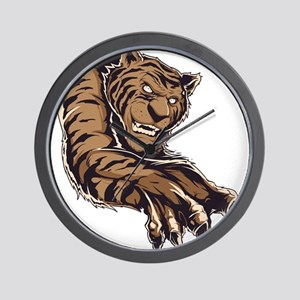 Tiger Claws Wall Clock
