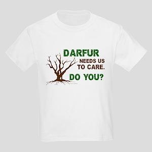 Darfur Needs Us To Care Kids Light T-Shirt