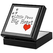 Little Paws Big Heart Keepsake Box