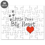 Little Paws Big Heart Puzzle