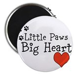 Little Paws Big Heart Magnets