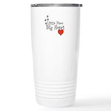 Little Paws Big Heart Travel Mug