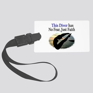 BEST DIVER Large Luggage Tag