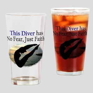 BEST DIVER Drinking Glass