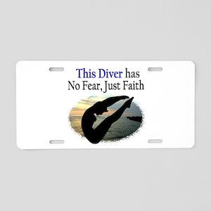 BEST DIVER Aluminum License Plate