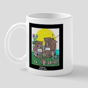 Outhouse Series/Family Affair Mug