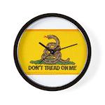 Don't Tread on Me! Wall Clock