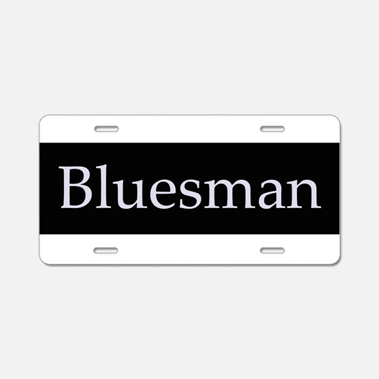 Cute Blues Aluminum License Plate