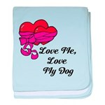 Love Me, Love My Dog baby blanket