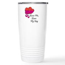Love Me, Love My Dog Travel Mug