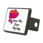 Love Me, Love My Dog Hitch Cover