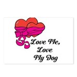 Love Me, Love My Dog Postcards (Package of 8)