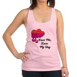 Love Me, Love My Dog Racerback Tank Top