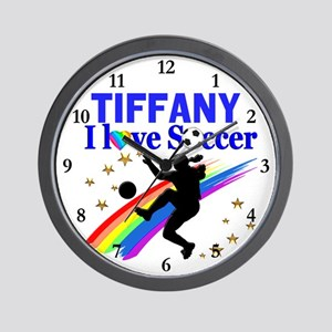 PERSONALIZE SOCCER Wall Clock