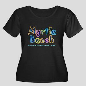 MB Tropical Type - Women's Plus Size Scoop Neck D