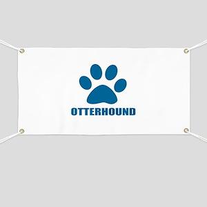Otterhound Dog Designs Banner